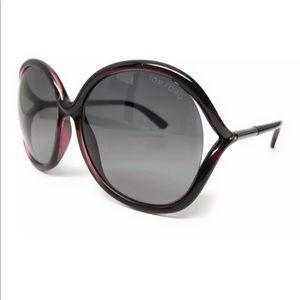 a9d9370ff943 Tom Ford. Tom Ford Tf 252 05b Rhi Violet Sunglasses